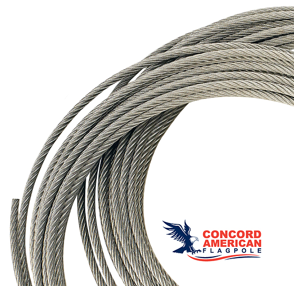 Wire Halyard – Concord American Flagpole