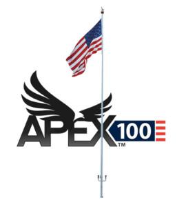Apex 100 FLagpoles