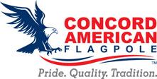 Concord American Flagpole Logo